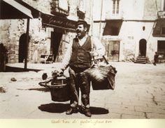 Catania (Sicilia) venditore di gelsi, fine 1800