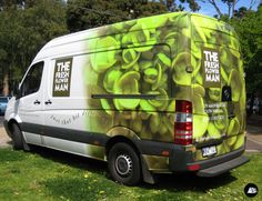 MB Sprinter Wrap, Flower Truck, The Fresh Flower Man, Partial Vehicle Wrap