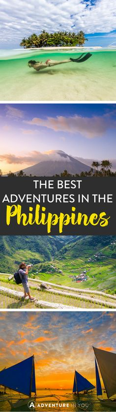 Adventures in the Philippines: The Ultimate Adventure Guide – Travel Voyage Philippines, Philippines Vacation, Philippines Travel Guide, Visit Philippines, Phillipines Travel, Philippines Destinations, Philippines Beaches, Manila Philippines, Mauritius Travel