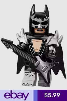 Buy and collect the LEGO Batman Movie Glam Metal Batman mini figure. Batman 2017, Batman Film, Lego Batman Movie, Batman Batman, Batman Suit, Lego Batman Figures, Batman Metal, Batman Robin, Glam Metal