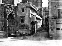 1905 - Calle Miguelete con el reloj desparecido