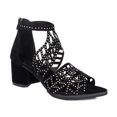 SD Stylish Women's Sandals With Zip and Rhinestones Design                           http://www.sammydress.com/product1617769.html $8.62 or check out:  Metallic Color and Chunky Heel $33.54