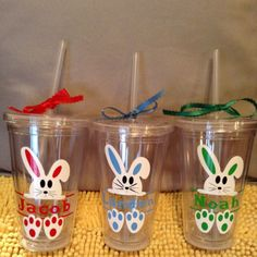 What fits awesome in your little ones Easter basket? These acrylic tumblers are perfect for the kiddos! Don't want the bunny? Check out our other kids tumblers! Pizza Number, Kids Tumbler, Blue Names, Tumbler With Straw, Acrylic Tumblers, Easter Baskets, Easter Bunny, Little Ones, Awesome