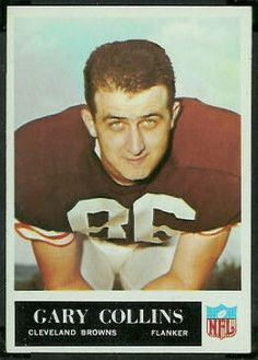 1968 Cleveland Browns | Gary Collins 1968 Browns Team Issue 7x8 ...