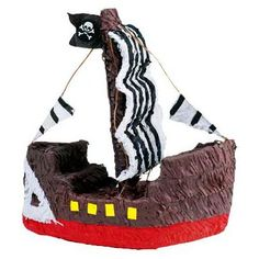 Find Pirate Ship Pinata (each) and other All Parties party supplies. The most popular party Supplies and Decorations, all available at wholesale prices!