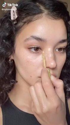 Natural Glowy Makeup, Natural Everyday Makeup, Dewy Makeup, Makeup Art, Face Makeup, No Makeup, Natural School Makeup, Maquillage On Fleek, Everyday Makeup Tutorials