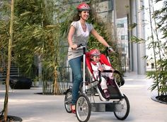 Bike Stroller!! This is great!