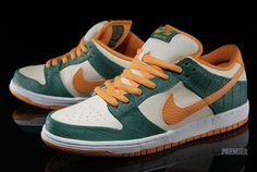 Nike SB Dunk Low Croc Detailed Pictures