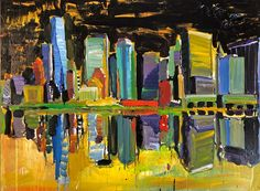 Urban Life, Pedestrian, Paintings, Artwork, Work Of Art, Painting, Draw, Portrait, Resim