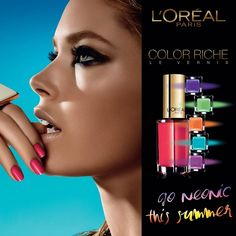 Beautiful Dutch model Doutzen Kroes was announced as the face of L'Oreal Paris in Since then, the 28 year old has posed for vari. Beauty Ad, Beauty Nails, Beauty Makeup, Doutzen Kroes, Makeup Ads, Beauty Companies, L'oréal Paris, Gorgeous Makeup, Perfect Nails