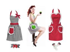 I want a pinup girl apron!