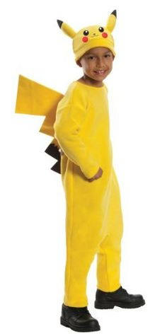 Pokemon Child's Deluxe Pikachu Costume Rubie's Costume Co. $18.95
