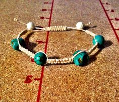 How to make a Square Knot bracelet with Sliding Closure