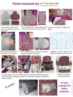 Pop Couture, Couture Sewing, Diy Cristals, Diy Sac Pochette, Leather Bag Tutorial, Zipper Jewelry, Patchwork Bags, Fabric Bags, Hand Crochet