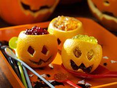 5 Last minute Halloween-Snacks Halloween Kita, Diy Deco Halloween, Halloween Fotos, Halloween Food Crafts, Dessert Halloween, Halloween Buffet, Halloween Treats For Kids, Halloween Goodies, Halloween Ideas