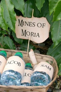 Lord of the Rings themed birthday party Full of Fun Ideas via Kara's Party Ideas KarasPartyIdeas.com #lordoftherings #lordoftheringsparty #r...