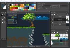 Pyxel Edit: pixel art and tileset creation tool