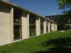 Apartments for Senior Citizens, Peter Zumthor. Masans, Chur, Graubünden, Switzerland, 1993.