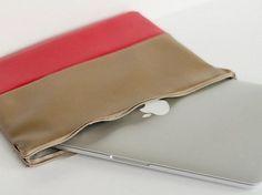 Tutoriel DIY: Coudre une housse d'ordinateur portable via DaWanda.com