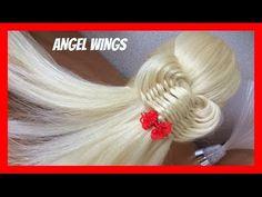 SIMPLE RIBBON HAIRSTYLE / HairGlamour Styles / Braids Hair Tutorial - YouTube