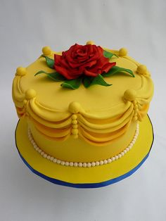 A Belle cake?! super cute!