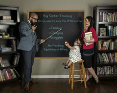 Our pregnancy announcement | Big Sister Training #pregnancy #announcement #newbaby #photoshoot #teacher #school #bigsister #bigsistertraining #babynumbertwo