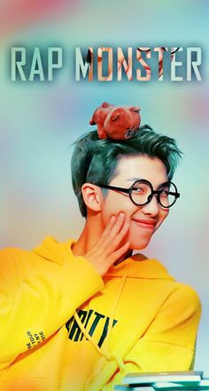 Namjoon Wallpaper #Rapmonster #Rap #Monster #Wallpaper #Kpop #Korean #korea #Wallpapers #Bts #Bangtanboys #yellow #green #phone