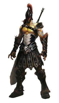 m Gladiator Fighter Champion urban