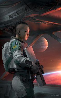 62 ideas science fiction characters soldiers shadowrun for 2019 Roman Fantasy, Sci Fi Fantasy, Arte Sci Fi, Sci Fi Art, Mädchen In Uniform, Science Fiction Kunst, Science Art, Space Opera, Arte Cyberpunk