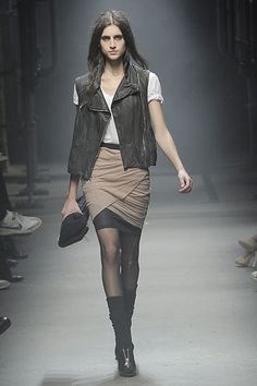 Alexander Wang Fall 2008 Ready-to-Wear Fashion Show - Freja Beha Erichsen