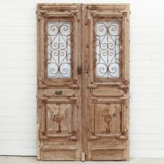In this case, the perfect amount of time to acheive just the right look. Grand Designs, Iron Doors, Alexandria, Glass Panels, Tall Cabinet Storage, 19th Century, Hand Carved, Carving, Pairs