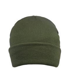 cb642d150f4 Men Beanies Hat Long Cuff Skull Cap Winter Beanie Floppy Warm Knit Cap Dark  Green CW186954ZYC
