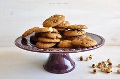 Biscoitos de Avelã e Chocolate! #Hazelnut #hazelnutcookies