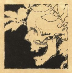 Koloman Moser, sketch for Jugendschatz, 1897