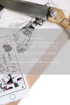 How I've tripled my Instagram likes (within 2 weeks!) Cityscape Bliss // Blog Cheat Sheet & Blog Tips