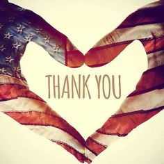 Thank you veterans for putting your life on the line for our freedom and security. Thank you.