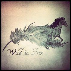 horse feather tattoo - Google zoeken