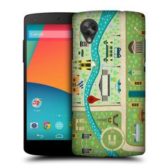 Head Case City Map Protective Snap on Back Case Cover for LG Google Nexus 5 D821 | eBay