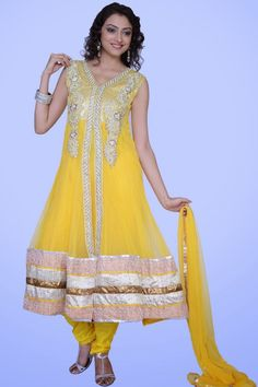 Fashionable Anarkali Outfits Variety 2014 For Females
