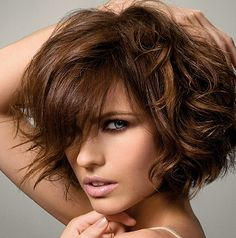 Short curls - shortest hair style I'd ever consent to my future having. (As if she'd listen to me anyway, ha!) O:-)