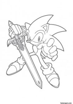 21 Sonic The Hedgehog Coloring Pages Free Printable Hedgehogs