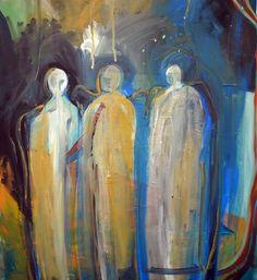 Three night spirits  Lorie McCown