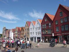 ユーラシア旅行社の北欧ツアーで訪れるベルゲン・ブリッゲン、ノルウェー