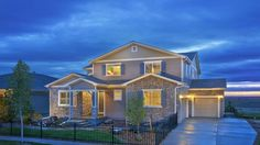 The Sterling II Exterior at Silverleaf, the Countryside Collection by Taylor Morrison