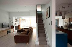 Escalera: Faceted House 2 - Paul McAneary Architects