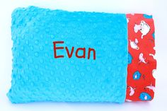 Personalized Minky Pillow Case