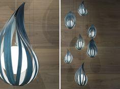 Raindrop-S suspension lamp :: Javier Herrero Studio