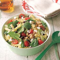 Greek Pasta Salad...
