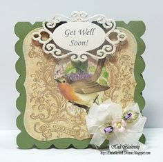Embellished Dreams: Get Well Soon Card