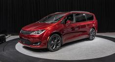 The exterior of the 2020 Chrysler Pacifica Anniversary Edition MiniVan won't largely depart from the base Pacifica model. Chrysler Van, Eight Passengers, Plymouth Voyager, Yukon Denali, Chrysler Pacifica, 35th Anniversary, Black Accents, Fuel Economy